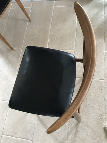 Paire de chaises scandinaves vintage