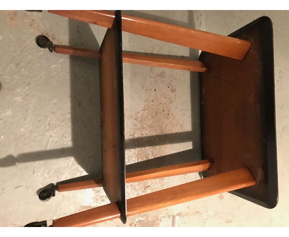 Side table double trap