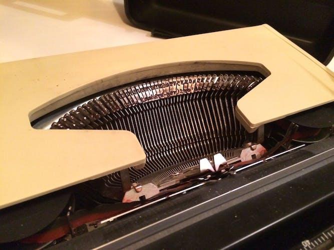 Machine à écrire mécanique portable Brother Nogamatic 400 - Japan 70s