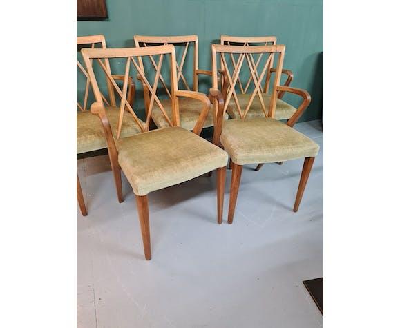 Chaises vintage par Abraham A. Patijn années 1950-1960.