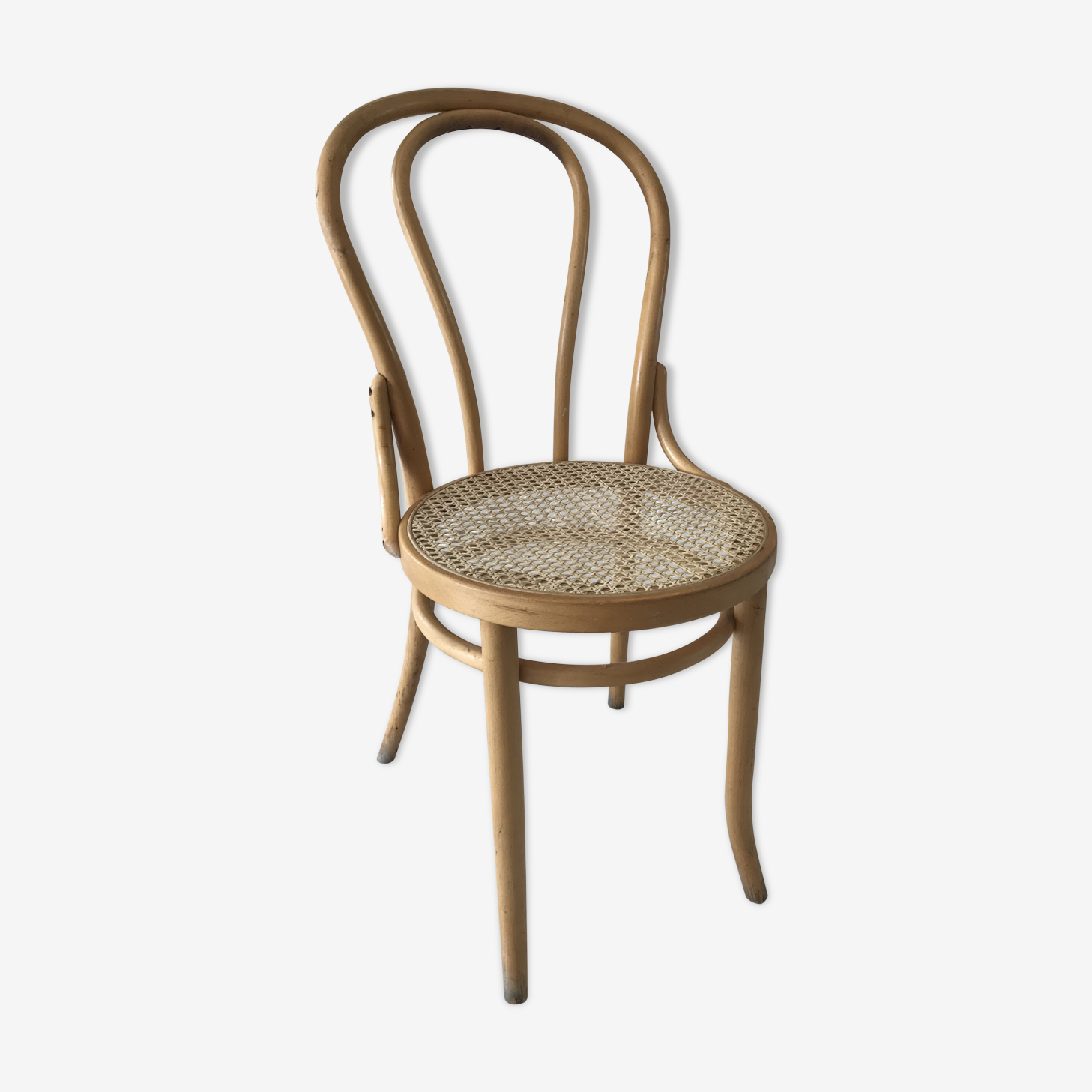 Chaise bistrot bois Thonet
