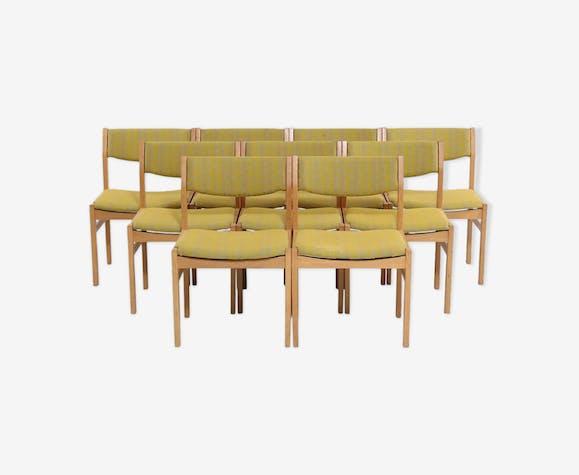 Set de 8 chaises de salle à manger Erick Worts