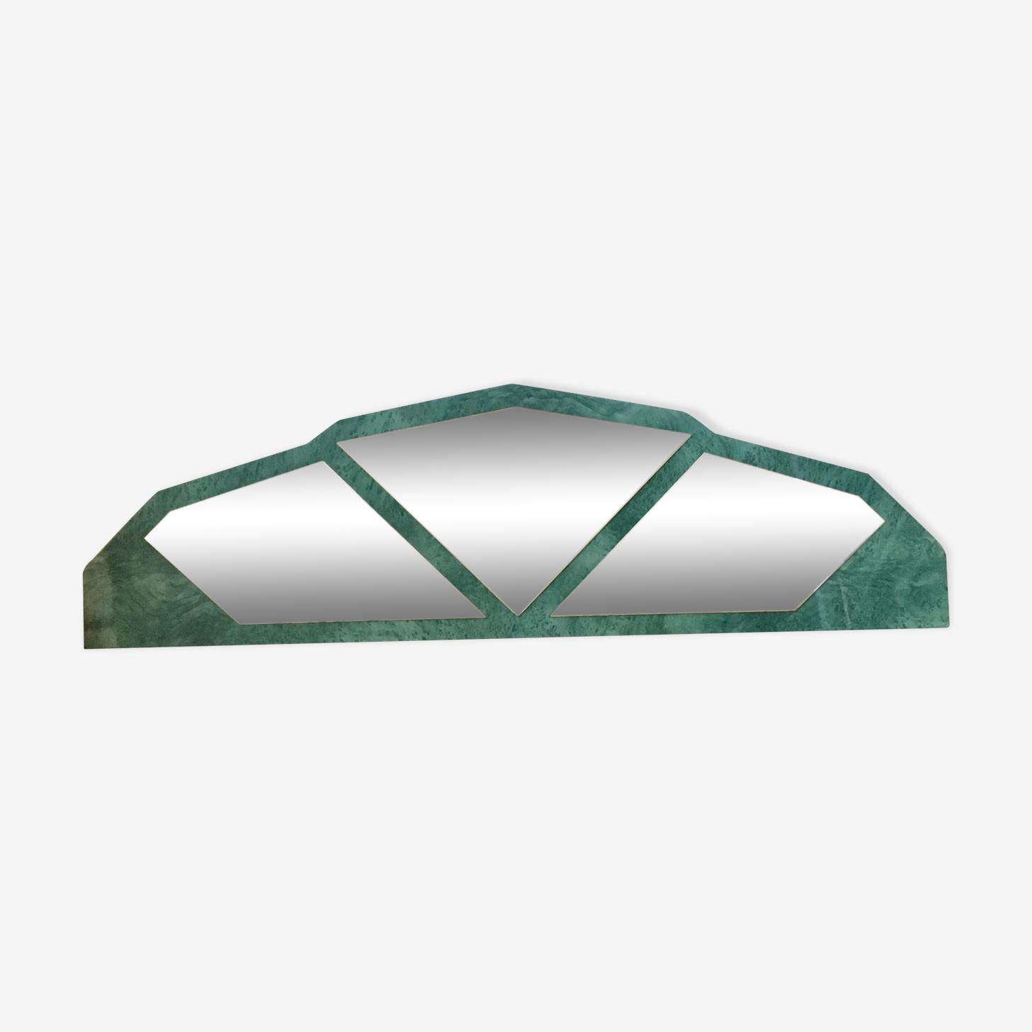 Miroir Tete De Lit 200x61cm Formica Vert Art Deco U7y5jju