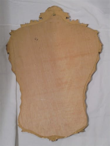 Miroir rococo 87 x 60 cm