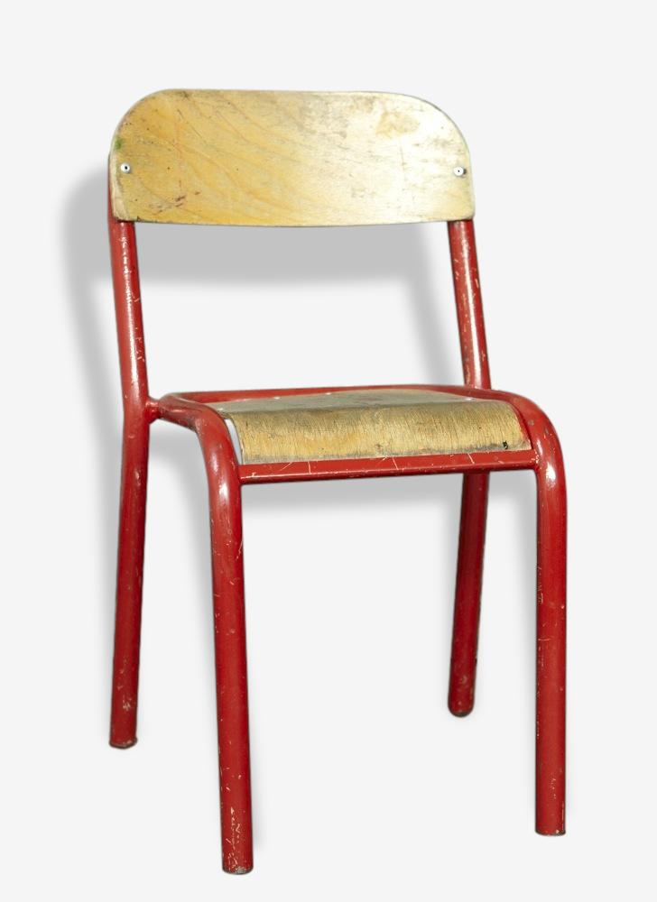Chaise d'école 1950's