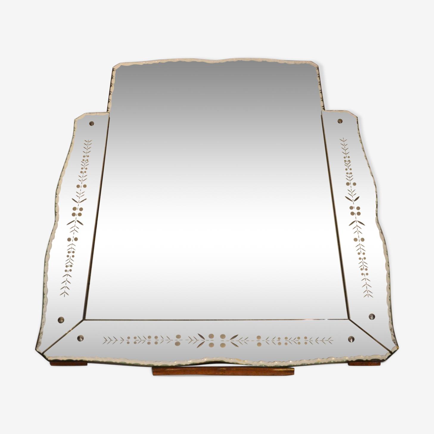 Miroir vénitien trumeau 89x72cm
