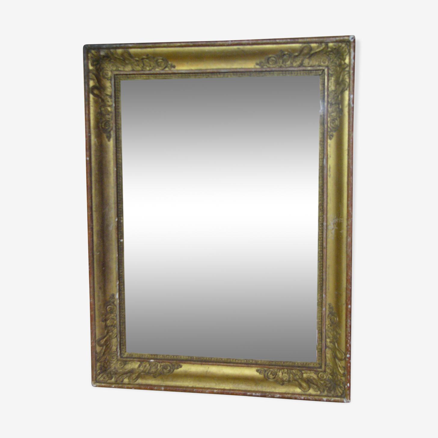 Golden mirror 40x54cm