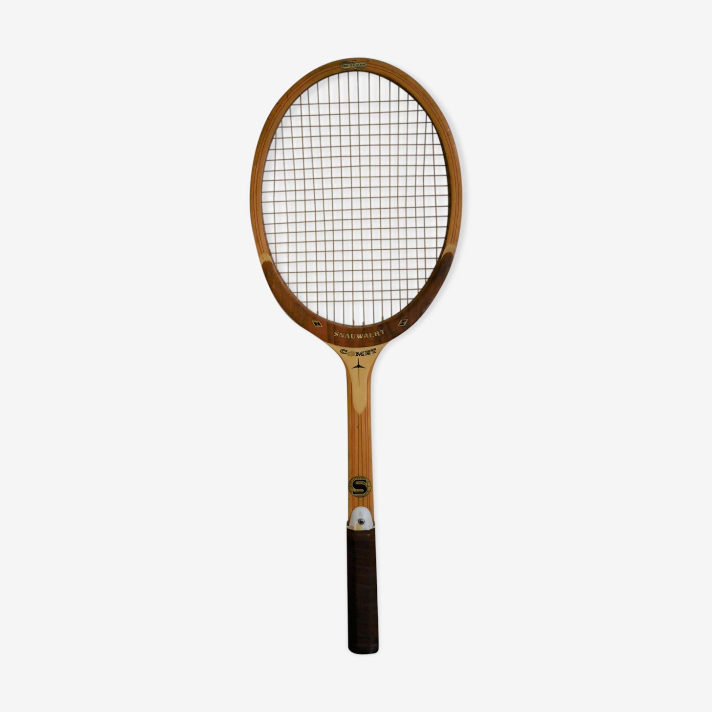 Old Racquet Snauwaert, made in Belgium