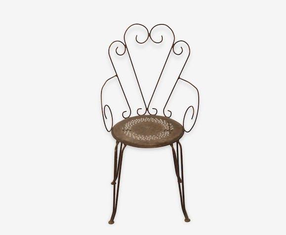 2 fauteuils Fermob montmartre vintage - métal - classique - 70805