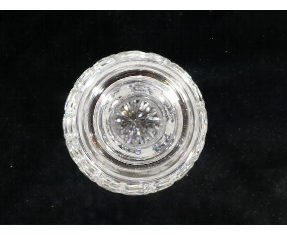 Carafe a vin en cristal de lorraine artisanat de lorraine