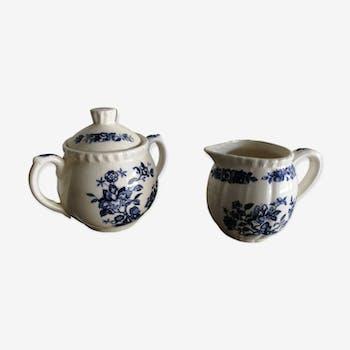 Ancient Japanese porcelain duo