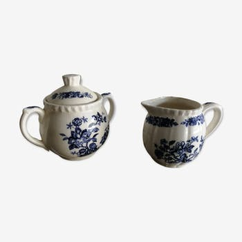 Duo en porcelaine japonnaise ancienne