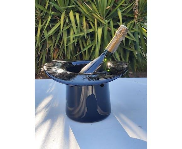 Seau à champagne verre soufflé Murano années 70