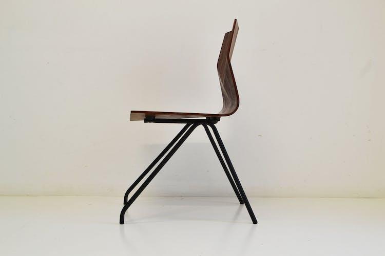 """Chaise modèle """"Diamant """" de René-Jean Caillette éditée par Steiner"""