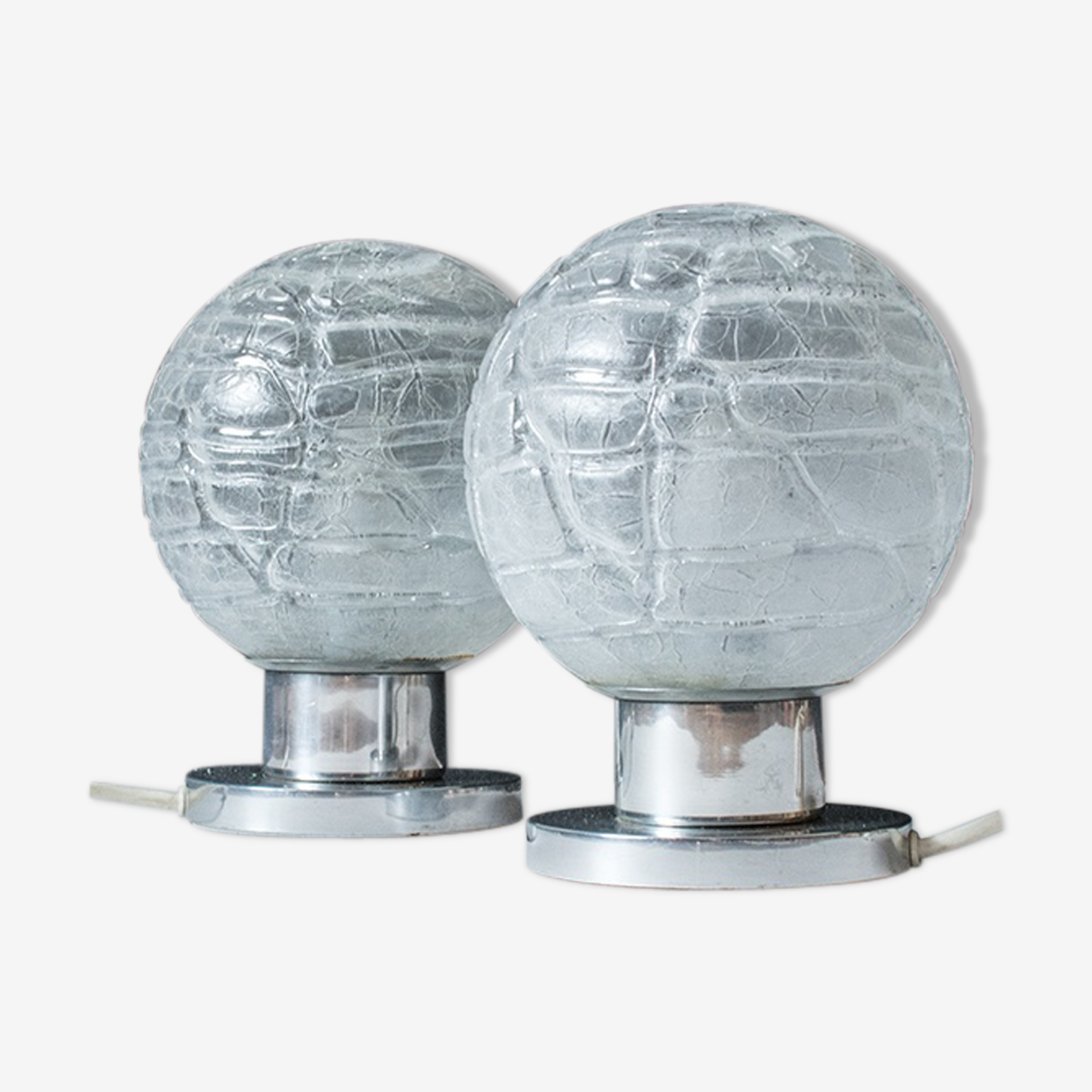 Pair of doria bedside lamps