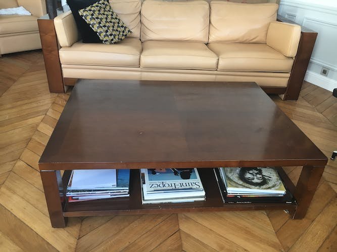 Table basse Hugues Chevalier