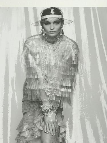 Photo de Karl Lagerfeld pour Chanel collection 2018