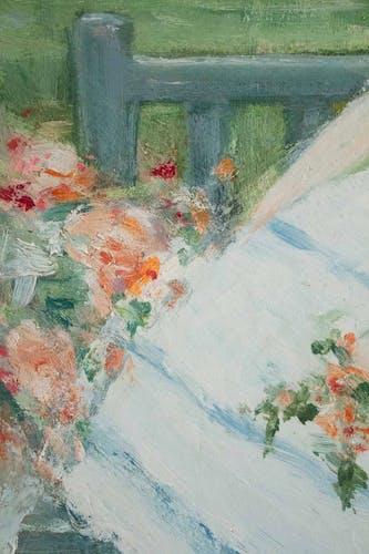 La fillette au corsage bleu de Antoine Rodondi