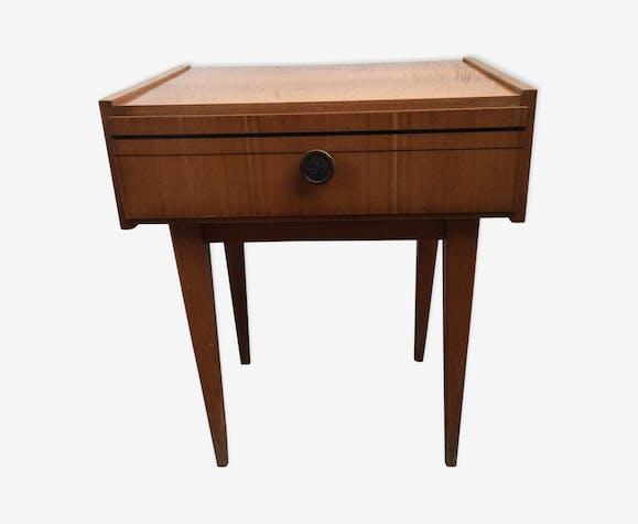 Table De Chevet Style Scandinave Vintage 1960 Bois