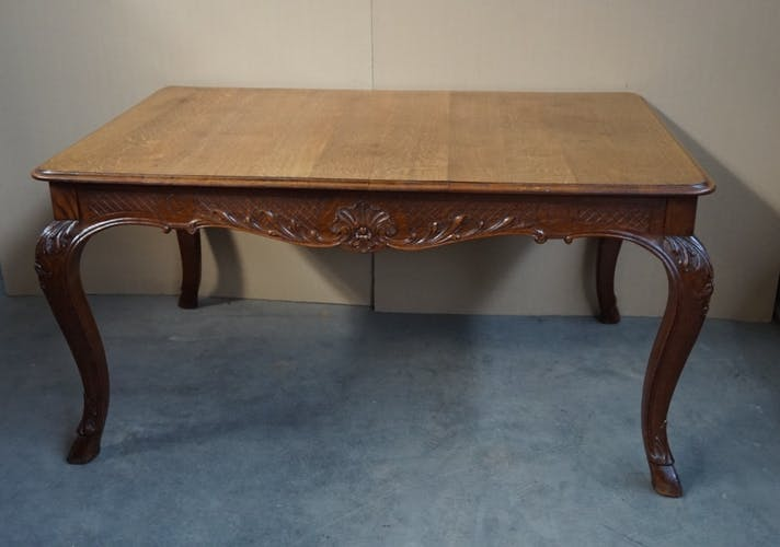 Table in the style of Louis XV