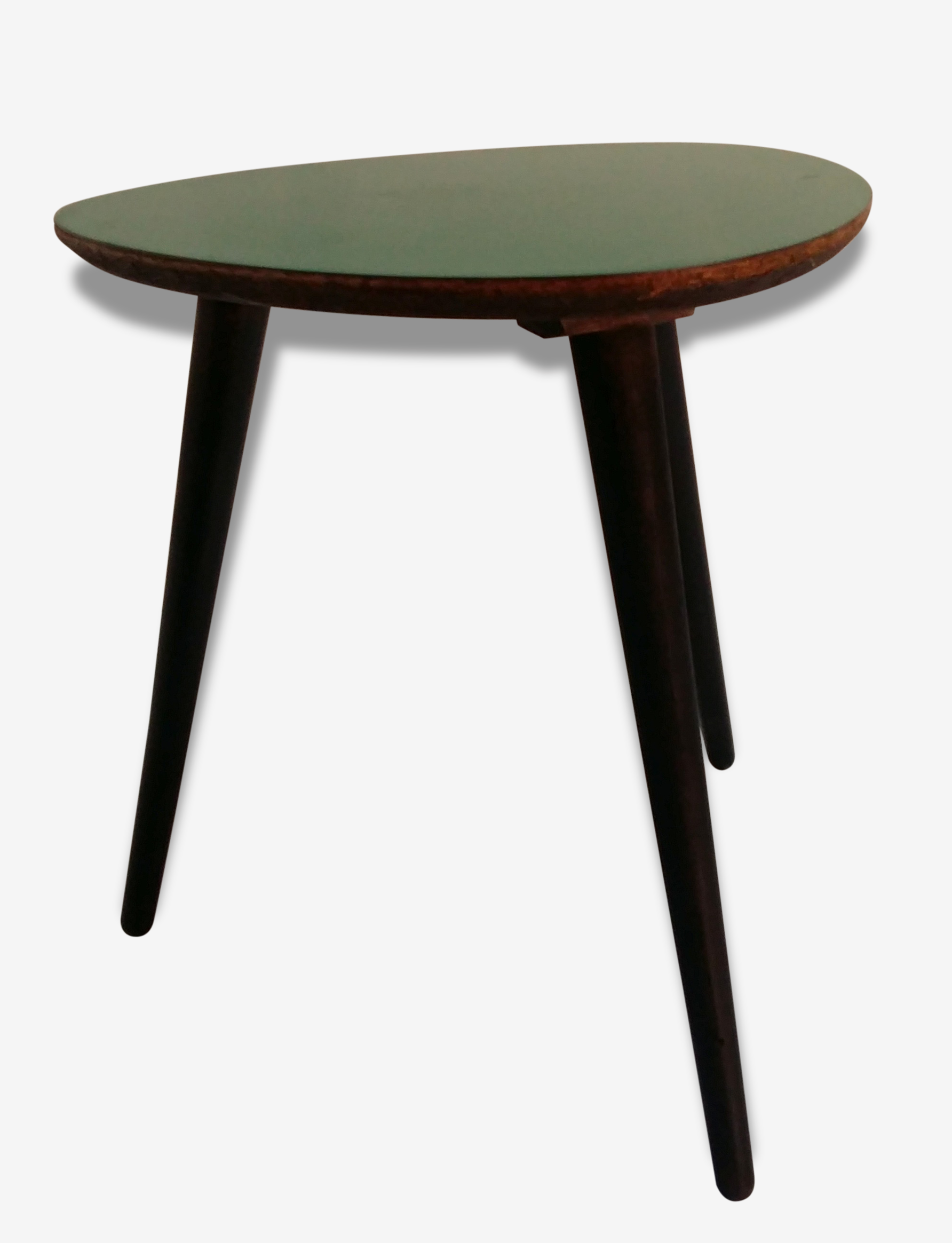 Table Tripode Années 50 table basse tripode années 50 formica vert - formica - green