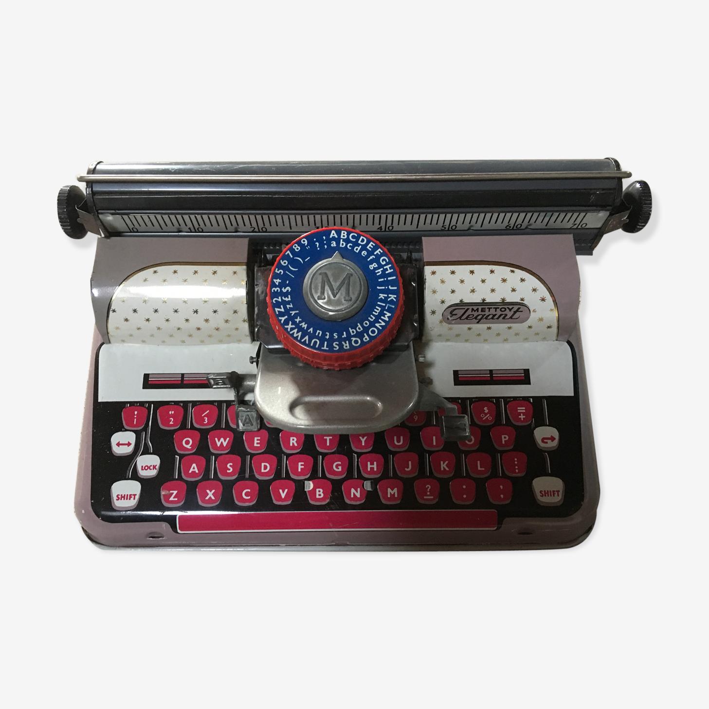 Machine à écrire Mettoy elegant