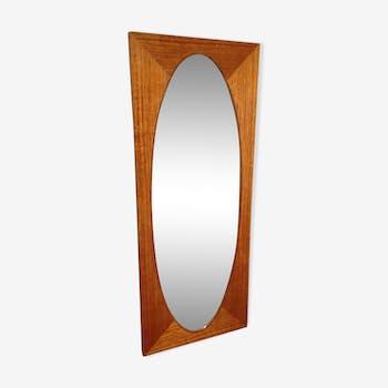 V nitien art d co en bois vintage d 39 occasion for Encadrement de miroir en bois