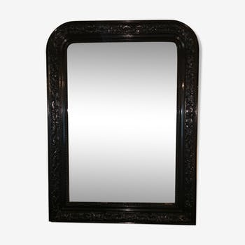 Louis Philippe black mirror 75x105cm