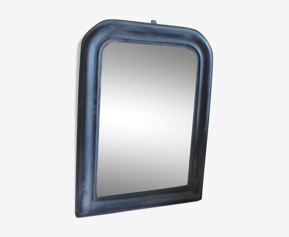 Old patinated mirror - 71x53cm