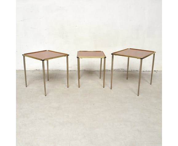 Tables gigognes Accessor Paris, 1960