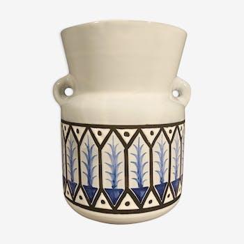 Vase à anses René Capron 1950