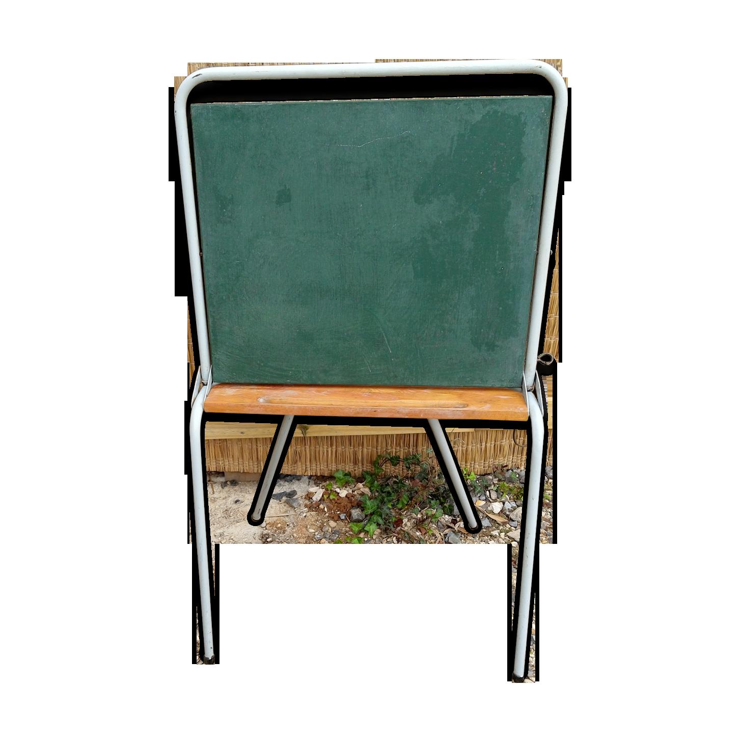 Tableau bureau colier bois Matriau vert vintage 624ga1M