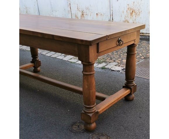 Great vintage walnut table
