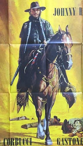 "Movie poster ""The Specialist"" Johnny Hallyday 120x160cm 1969"