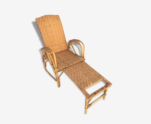 Rotin Longue Dite 1900 Annees Mere Chaise Manufrance Grand bY7ym6gIfv