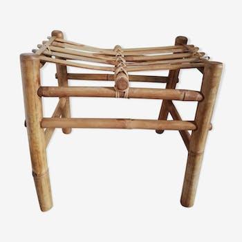 Tabouret bambou
