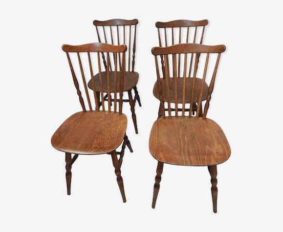 4 chaise Menuet années 60