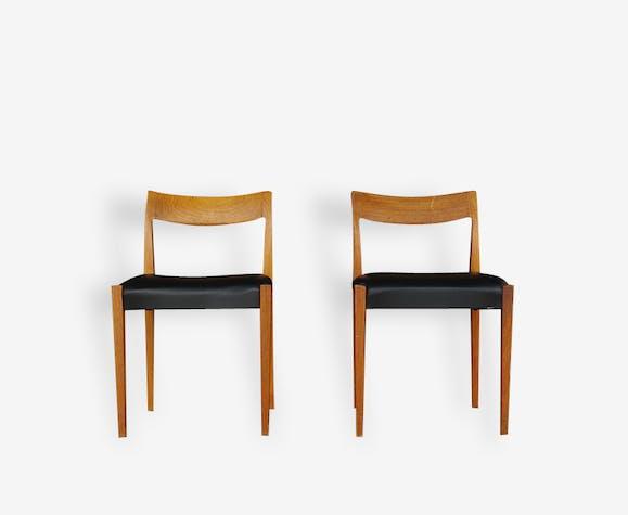 paire de chaises sudoises design scandinave lina - Chaises Suedoises