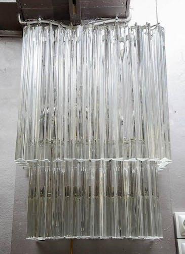 Paire d'appliques et verre de Murano 1985