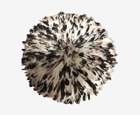 Juju hat traditionnel en plumes naturelles 80cm