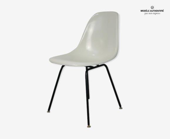 Chaise DSX fibre Eames Herman Miller vintage
