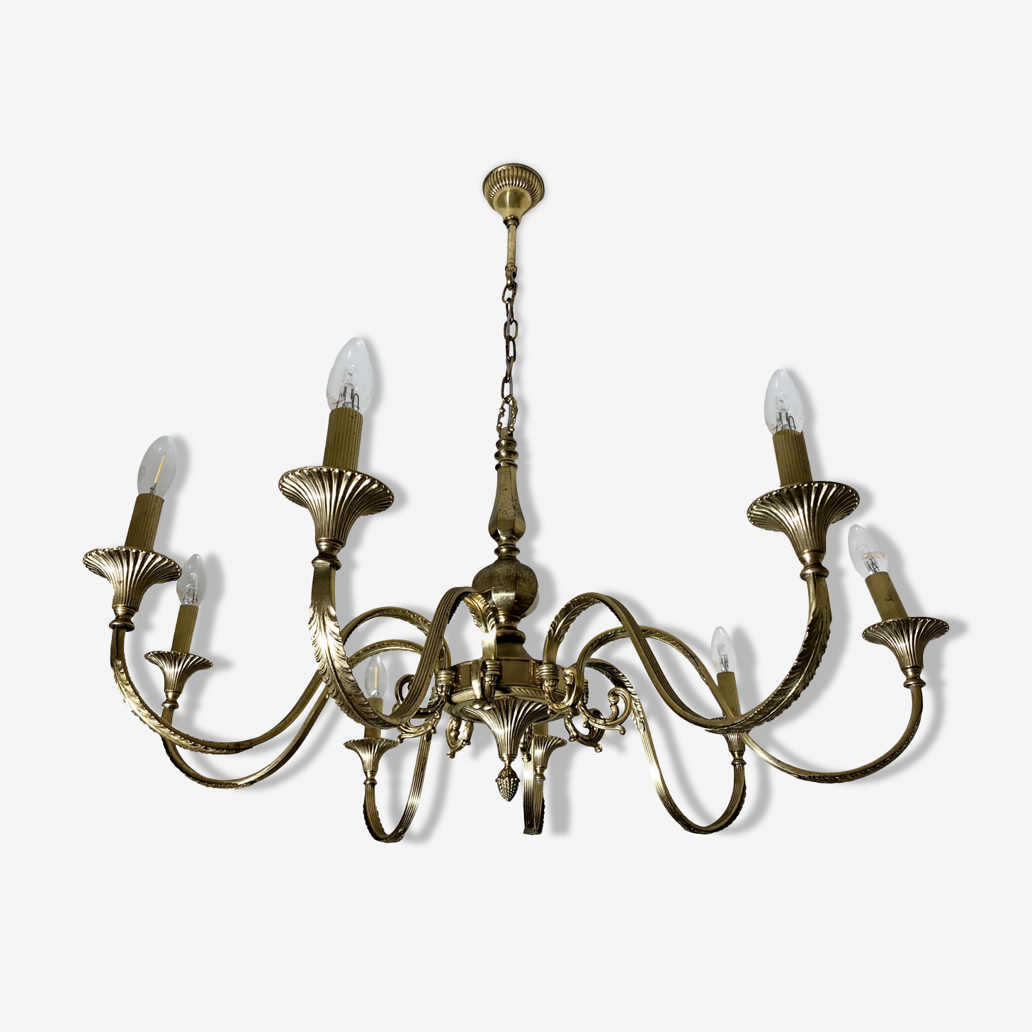 Large chandelier neo classic