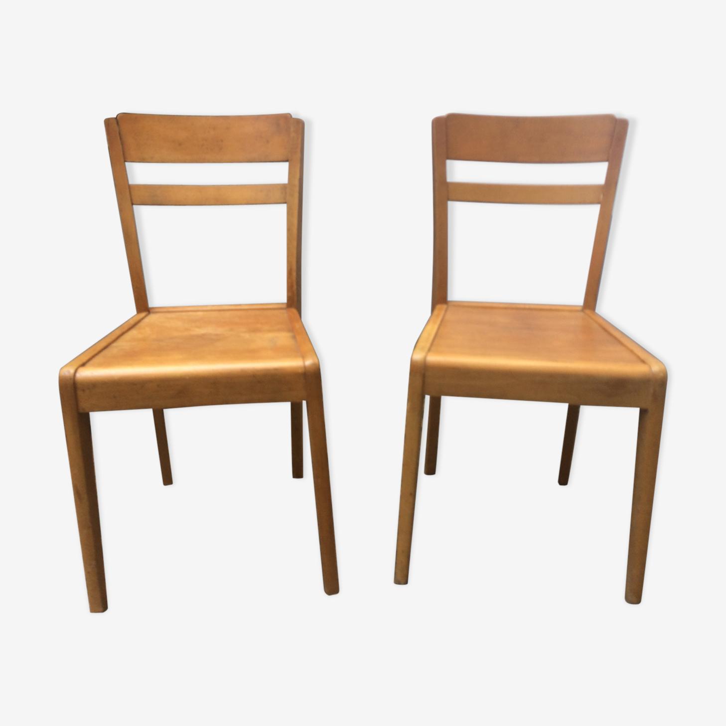 Pair of chairs stella