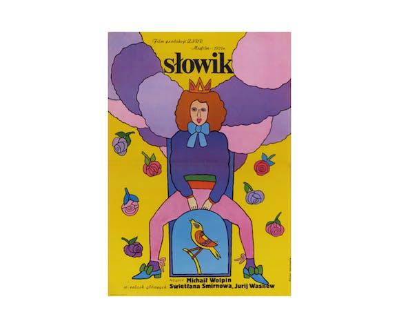 Film Poster 'Nightingale' | Poland | 1979