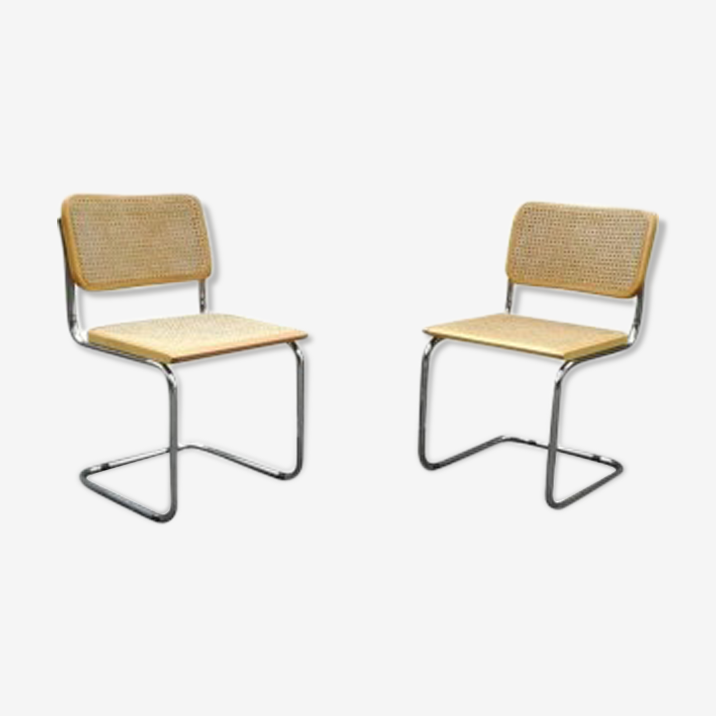 Pair of chairs Marcel Breuer B32