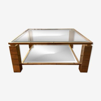 Table basse Belgo Chrome