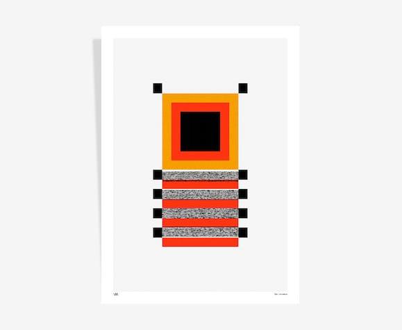 Segments no.1 art print