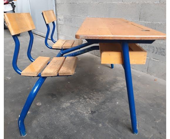 Pupitre d'école vintage