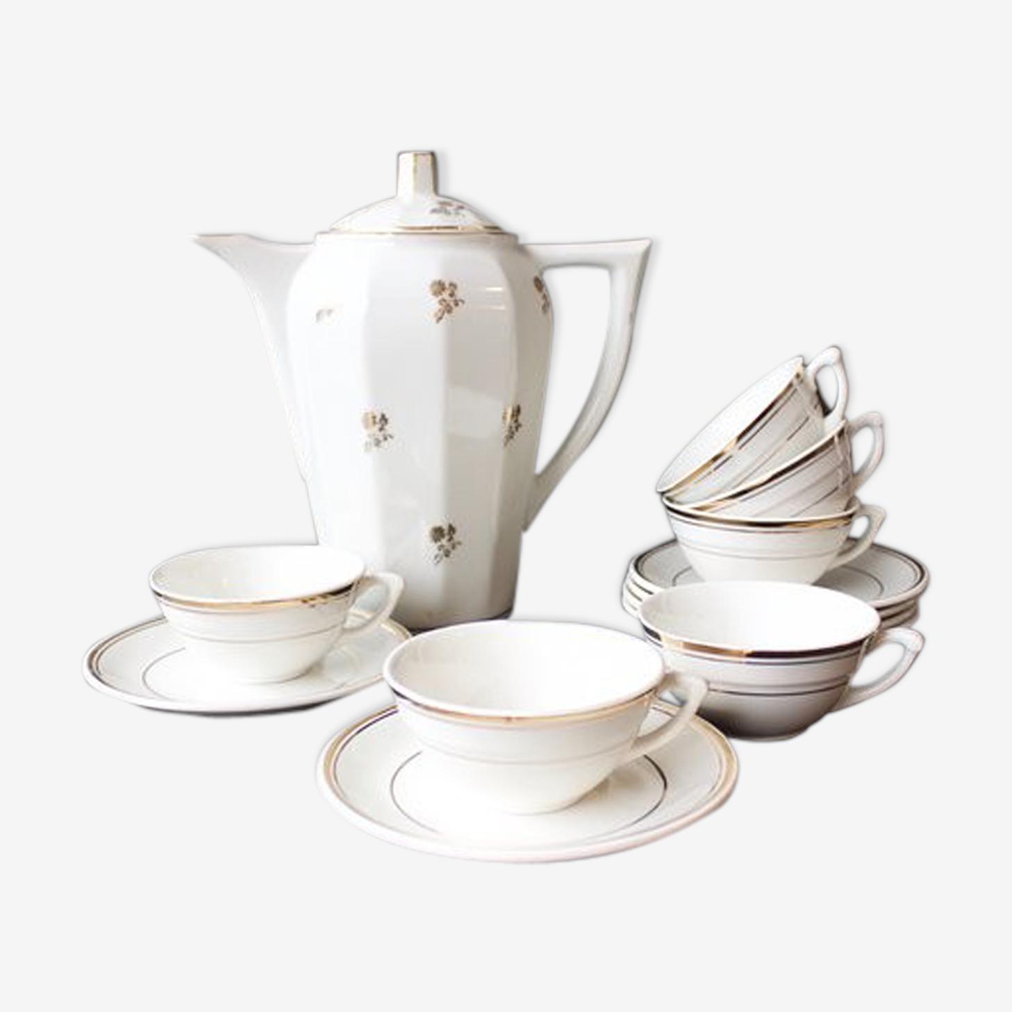 Ensemble de café en porcelaine 1940