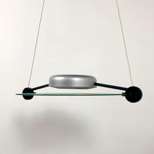 Suspension Cyclos par Michele De Lucchi pour Artemide, 1980